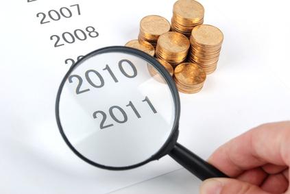 Geld 2010 2011 Entwicklung