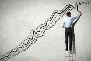 Steigende Zinsentwicklung